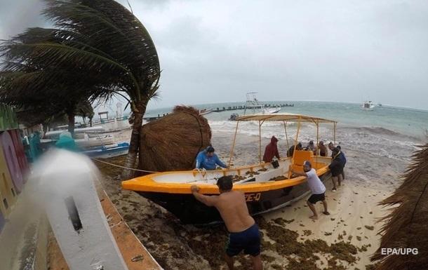 Шторм Нана усилился до урагана у берегов Центральной Америки