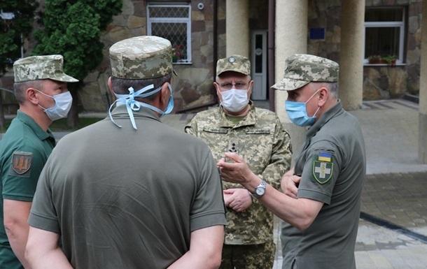 В армії зростає захворюваність на коронавірус