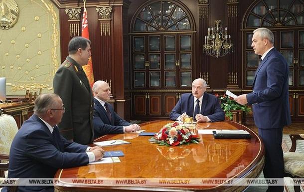 Лукашенко змінив глав КДБ і Радбезу Білорусі
