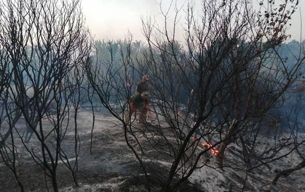 При тушении пожаров погиб военный, которого считали без вести пропавшим