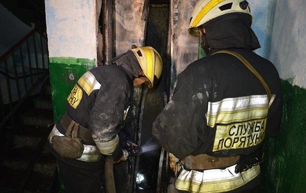 В Киеве загорелась элитная 'высотка' рядом с посольством США