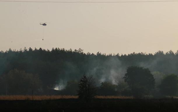 В Харьковской области зафиксировали еще один лесной пожар