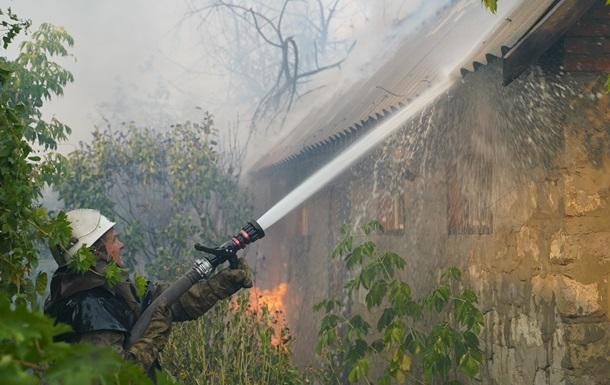 Нацполиция расследует пожары на Луганщине