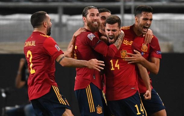 Збірна Іспанії перед матчем з Україною встановила нацрекорд результативності