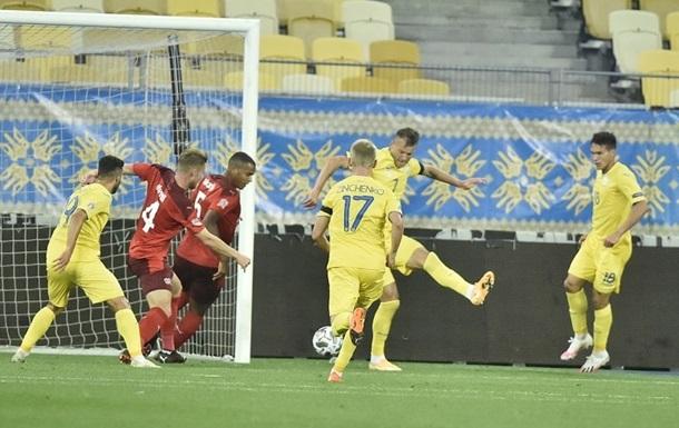 Сборная Украины продлила беспроигрышную серию до 12 матчей