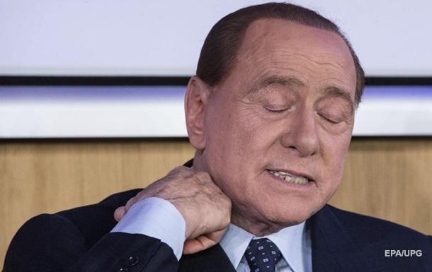 Заразившегося коронавирусом Берлускони госпитализировали