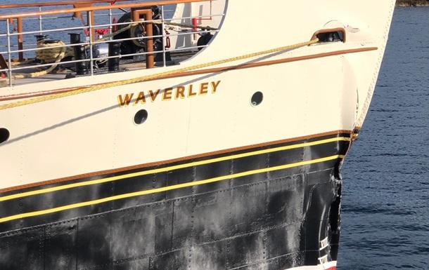 В Шотландии пароход врезался в причал: 17 пострадавших