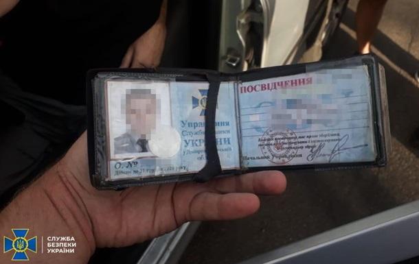 У Дніпрі затримали злочинця зі зброєю з підробленим посвідченням СБУ