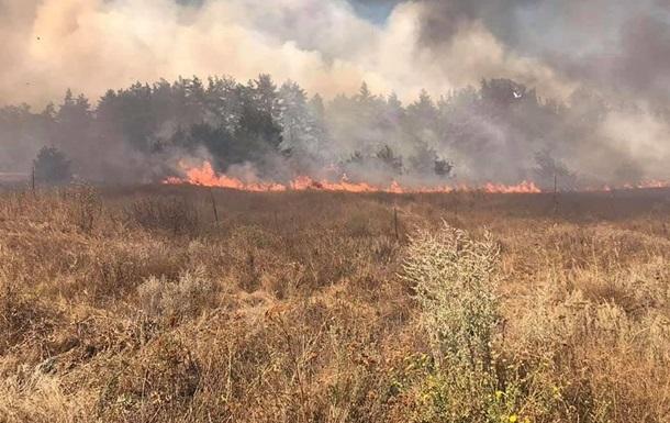 У Харківській області загасили одну із лісових пожеж