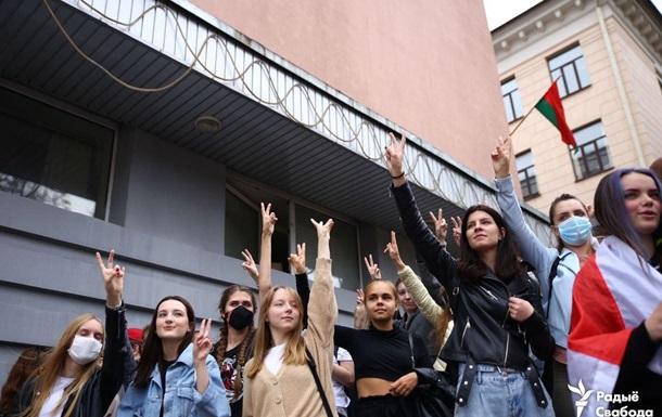 У Мінську відпустили більшість затриманих студентів