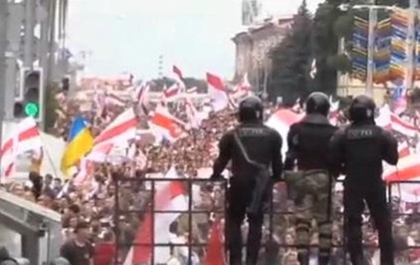 Первые итоги вчерашнего  митинга в Минске