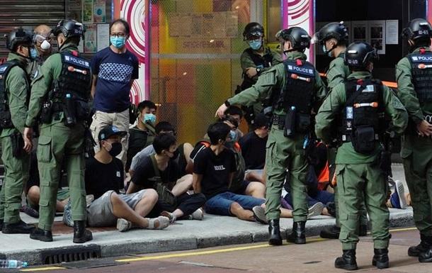 У Гонконгу затримали сотні протестувальників