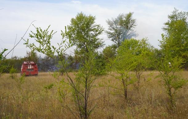 Пожар на Донбассе: остались отдельные очаги тления