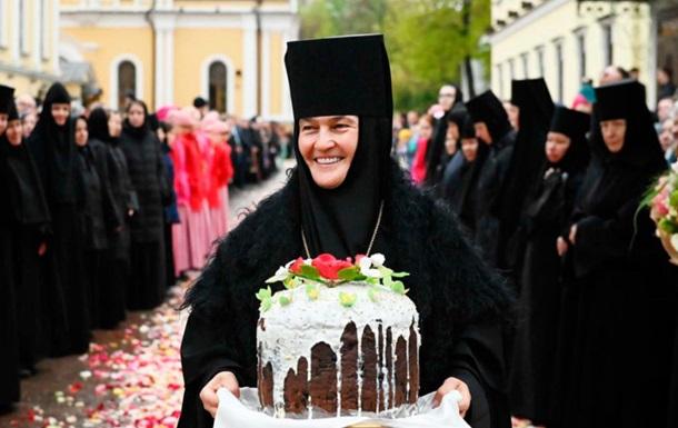 Бизнес леди в монашеской рясе Московского патриархата