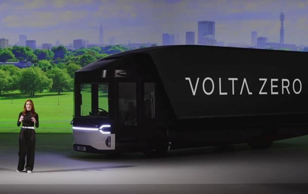 Представлена електрична вантажівка Volta Zero