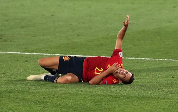 Защитник Реала получил травму в матче против сборной Украины