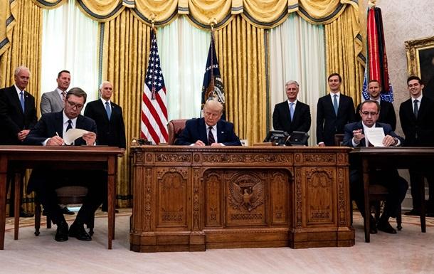 'Исторический день'. Соглашение Сербии и Косово