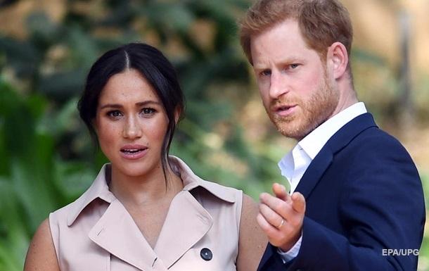 Принц Гаррі і Меган Маркл повернули Єлизаветі II близько 3 млн доларів