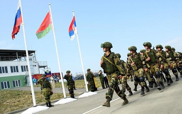 У Білорусь на навчання їдуть військові з РФ і Сербії
