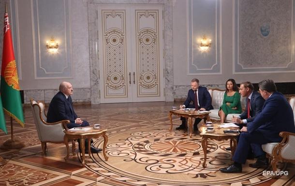 Просто так не уйду . Тезисы интервью Лукашенко