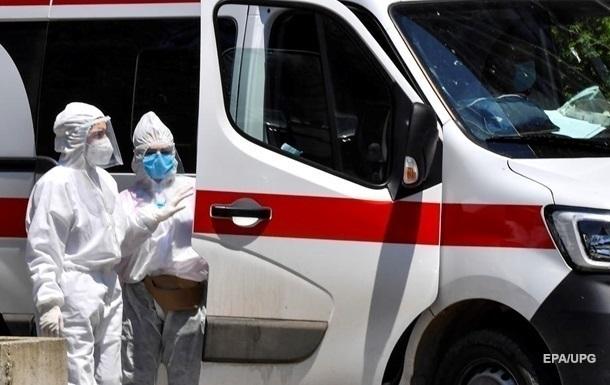 В Украине более 2,5 тысяч новых случаев COVID-19