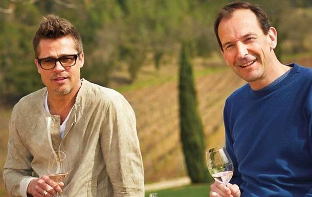 Брэд Питт потратил пять лет на создание уникального шампанского