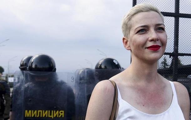 Колесникова арестована и находится в минском СИЗО