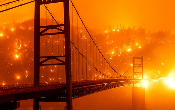 Из-за пожаров штат Орегон превратился в ад