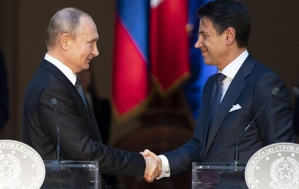 Путин пообещал премьеру Италии расследовать отравление Навального