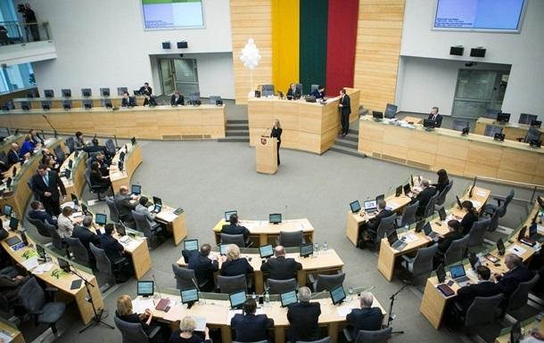 В Литве признали Тихановскую 'избранным лидером'