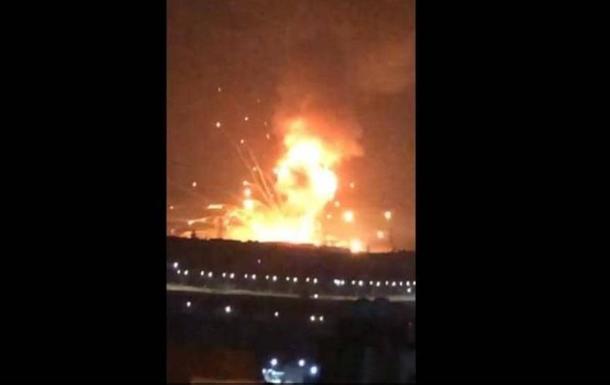 У Йорданії на складі з боєприпасами прогримів вибух