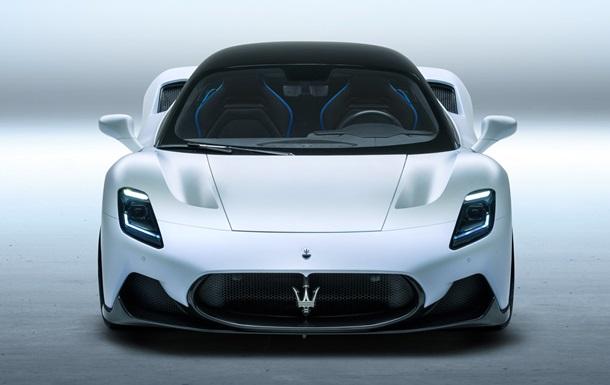 Maserati презентувала люксовий суперкар MC20