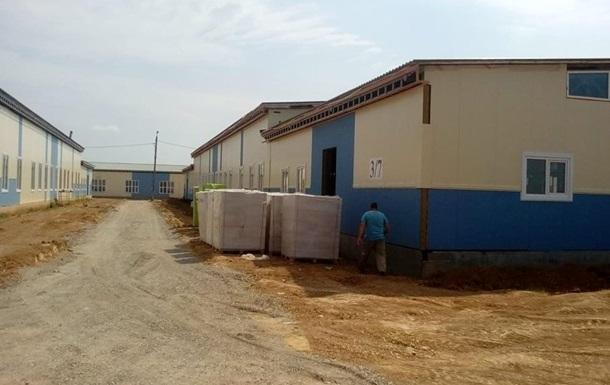 На строительстве казарм для военных украли пять млн гривен