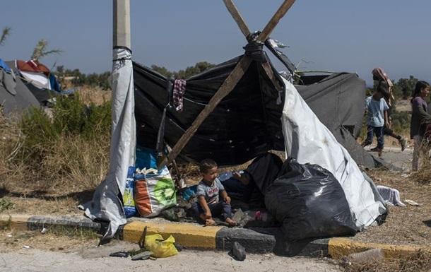 Ситуація з біженцями на Лесбосі гіршає: немає їжі і води