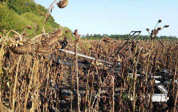 В Сумской области разбился самолет, есть жертвы