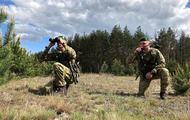 Украина усилила границу с Беларусью