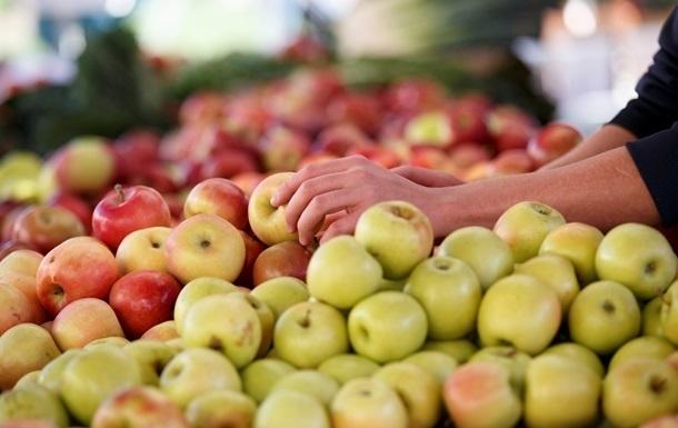 В Україні рекордно подешевшали яблука