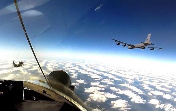 Бомбардувальники США регулярно патрулюватимуть небо над Україною