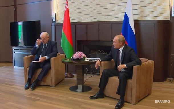 Зустріч Лукашенка і Путіна завершилася