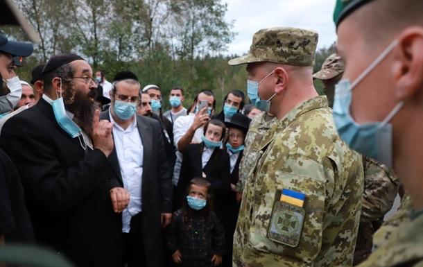 Сотни хасидов пытаются прорваться в Украину из Беларуси