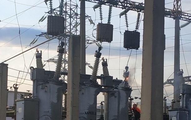 Авария оставила часть Киева без света