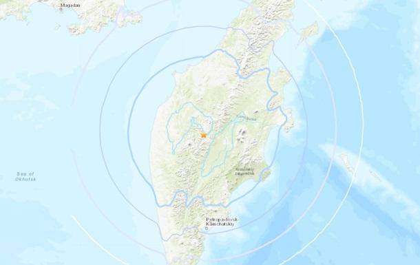 На Камчатці стався потужний землетрус