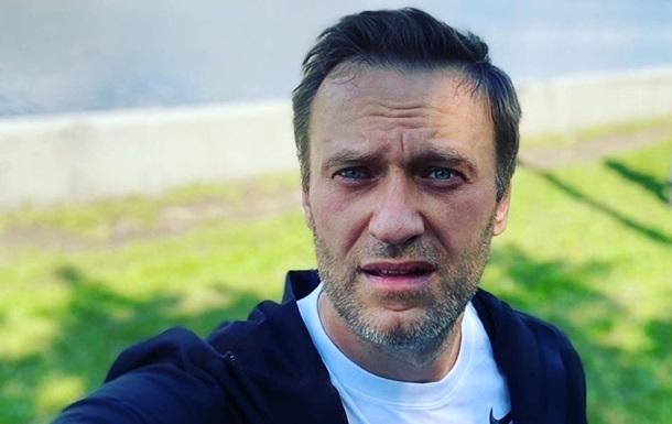 З явилося перше фото Навального з лікарні