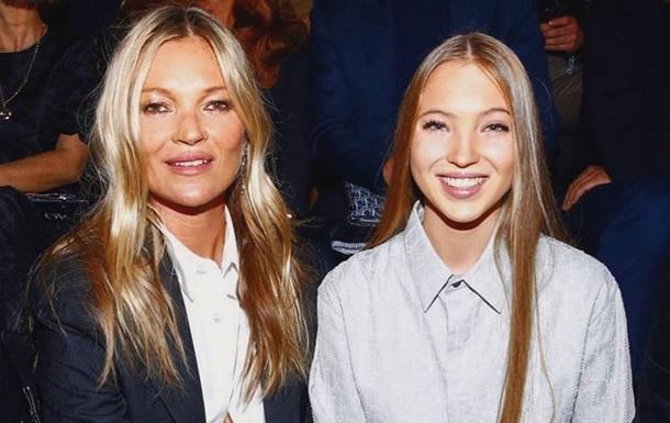 Дочь Кейт Мосс отправилась на вечеринку в  голом  платье