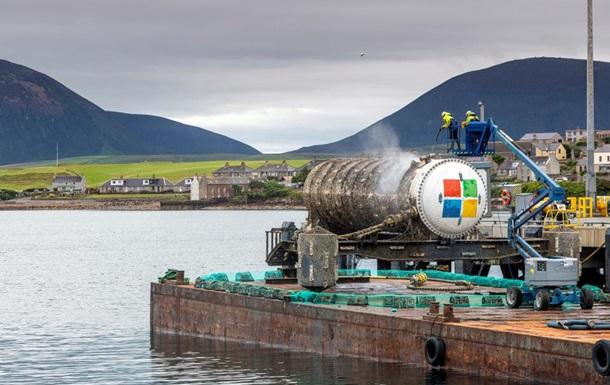 Сервери Microsoft будуть зберігатися під водою