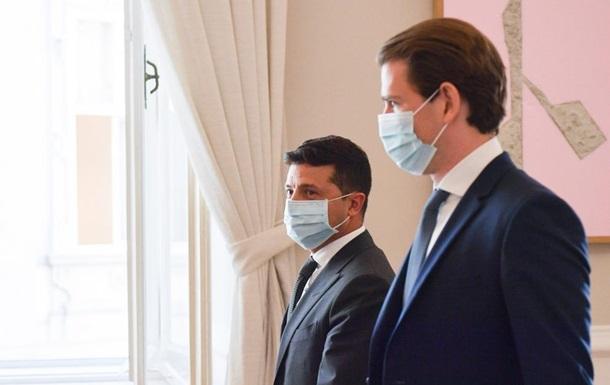 Австрия готова помогать урегулированию на Донбассе