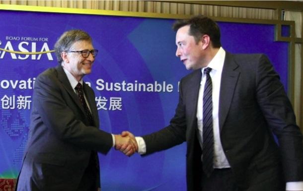 Гейтс і Маск знову розійшлися. Що сварить гігантів
