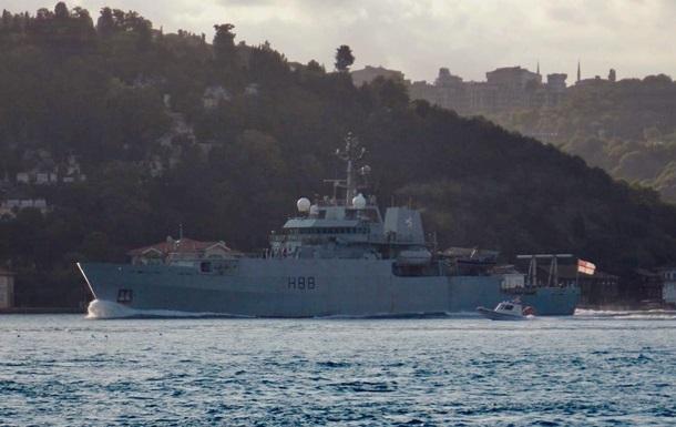 У Чорне море увійшов корабель британських ВМС