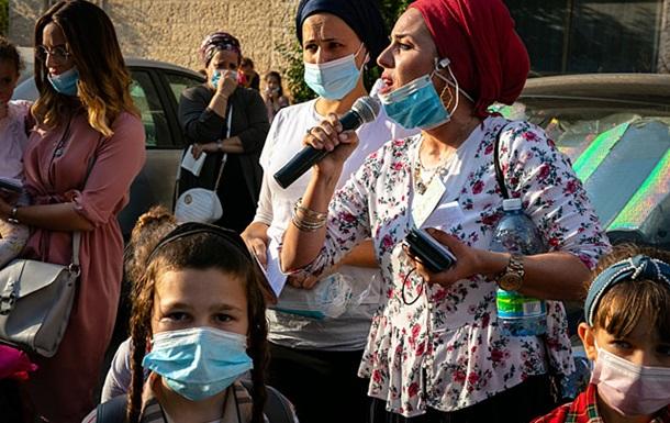В Израиле митингуют родственники хасидов