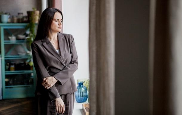 Тихановская выступила на церемонии вручения премии Freedom House